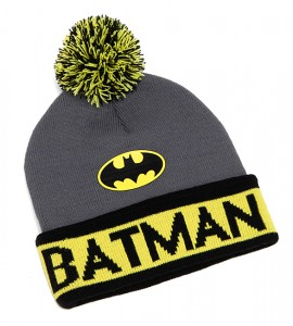 Batman Beanie With Pom