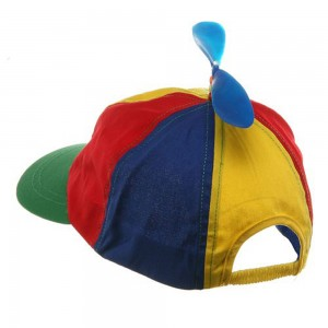 Beanie Hat With Propeller