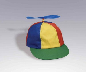 Beanie with Propeller Hat