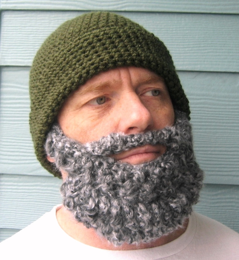 Knitting Pattern For Baby Hat With Beard : Beard Beanies Beanie Ville
