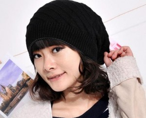 Black Beanies for Women