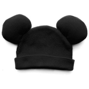 Black Mickey Mouse Beanie