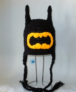 Crochet Batman Beanie