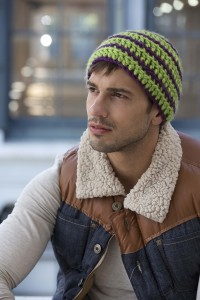 Crochet Beanie Pattern for Men