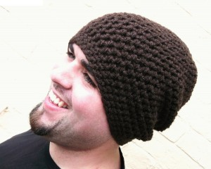 Crochet Beanie for Men