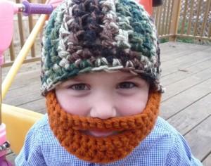 Crochet Beard Beanies