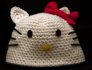 Hello Kitty Baby Beanie