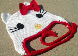 Hello Kitty Hat Beanie