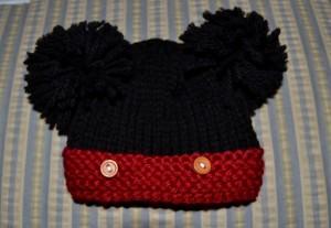 Mickey Mouse Beanie Crochet Pattern