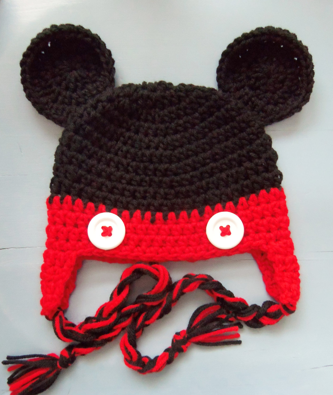 Mickey Mouse Crochet Pattern Free | Joy Studio Design ...