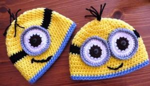 Minion Beanie Hats