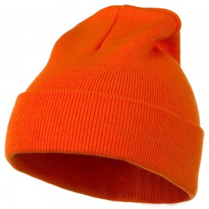 Orange Hat Beanie