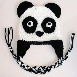 Panda Beanie Crochet Pattern