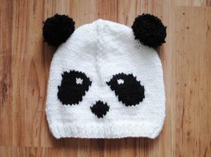 Panda Beanie Hat