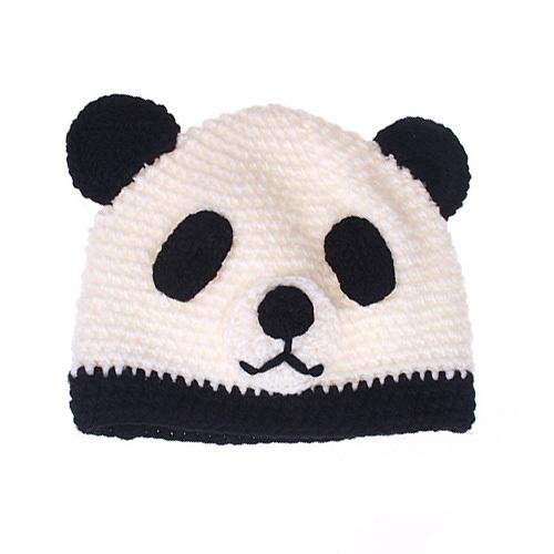 Knitting Pattern For Panda Hat : Panda Beanies Beanie Ville