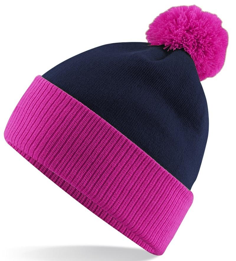 11e61b01bb7 Pink and Black Beanie