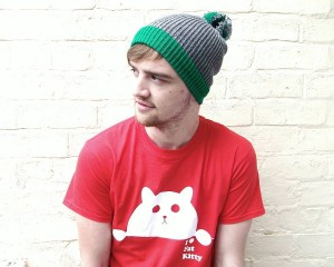 Pom Beanies for Men
