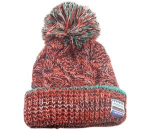 Pom Knit Beanie