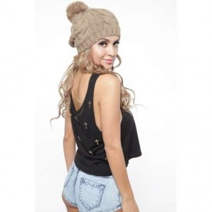 Pom Pom Beanies for Women