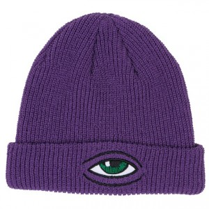 Purple Hat Beanie