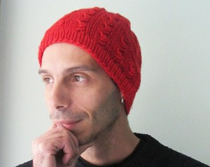 Red Beanies for Men