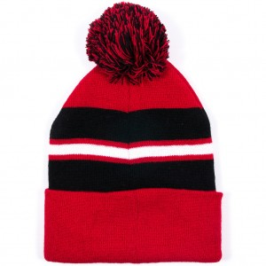 Red and Black Beanie