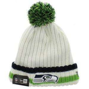 Seattle Seahawks Beanie Hat