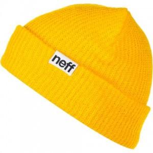 Yellow Neff Beanie