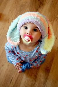 Beanie with Bunny Ears