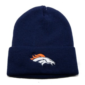 Broncos Beanie without Pom