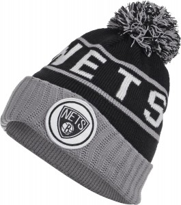 Brooklyn Nets Beanie Mitchell and Ness