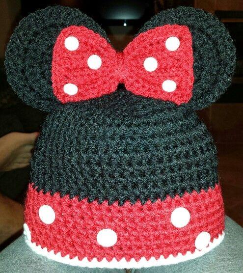 Minnie Mouse Beanie | Beanie Ville