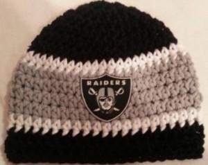 Crochet Raiders Beanie