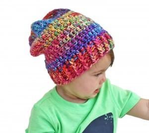 Crochet Tie Dye Beanie