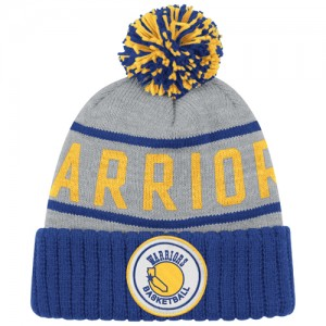 Golden State Warriors Beanie with Pom