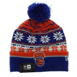 Knicks Beanie with Pom