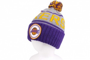 Lakers Beanie Hat