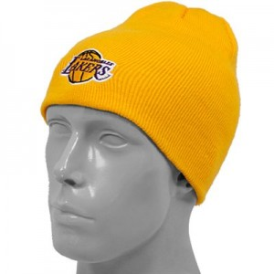 Lakers Beanie without Pom