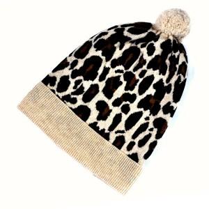 Leopard Beanie Hat