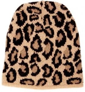 Leopard Beanies