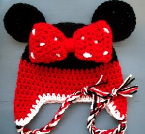 Minnie Mouse Beanie Hat