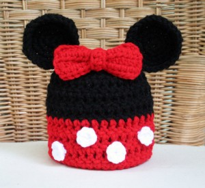 Minnie Mouse Hat Beanie