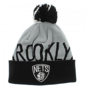 Mitchell and Ness Brooklyn Nets Beanie