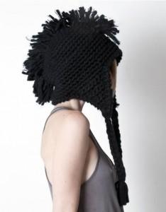 Mohawk Beanie Hat