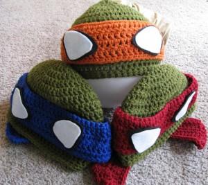 Ninja Turtle Beanies