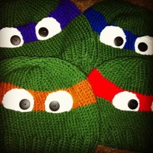 Ninja Turtle Hat Beanie