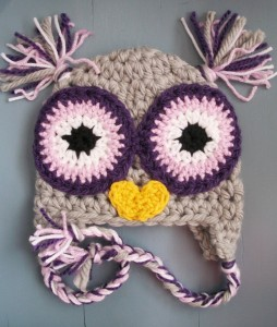 Owl Beanie Crochet
