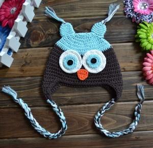 Owl Beanie Crochet Pattern