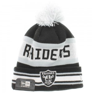Raiders Beanie with Pom