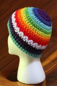 Rainbow Beanie Hat
